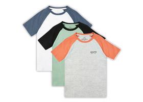 3'lü Kısa Kollu T-Shirt Takımı