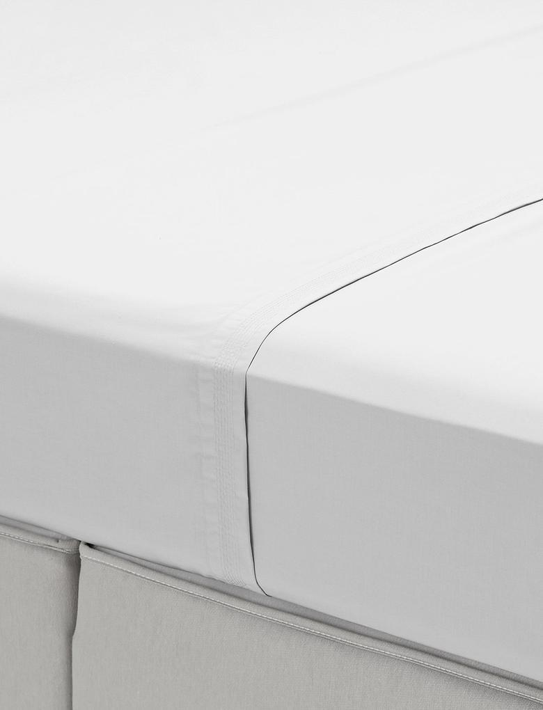 Beyaz Percale Kumaş Çarşaf