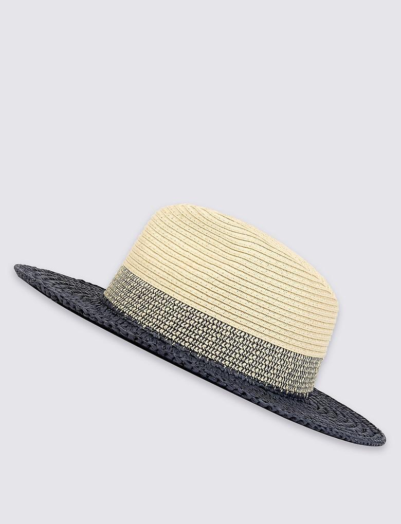 Lacivert Fötr Şapka