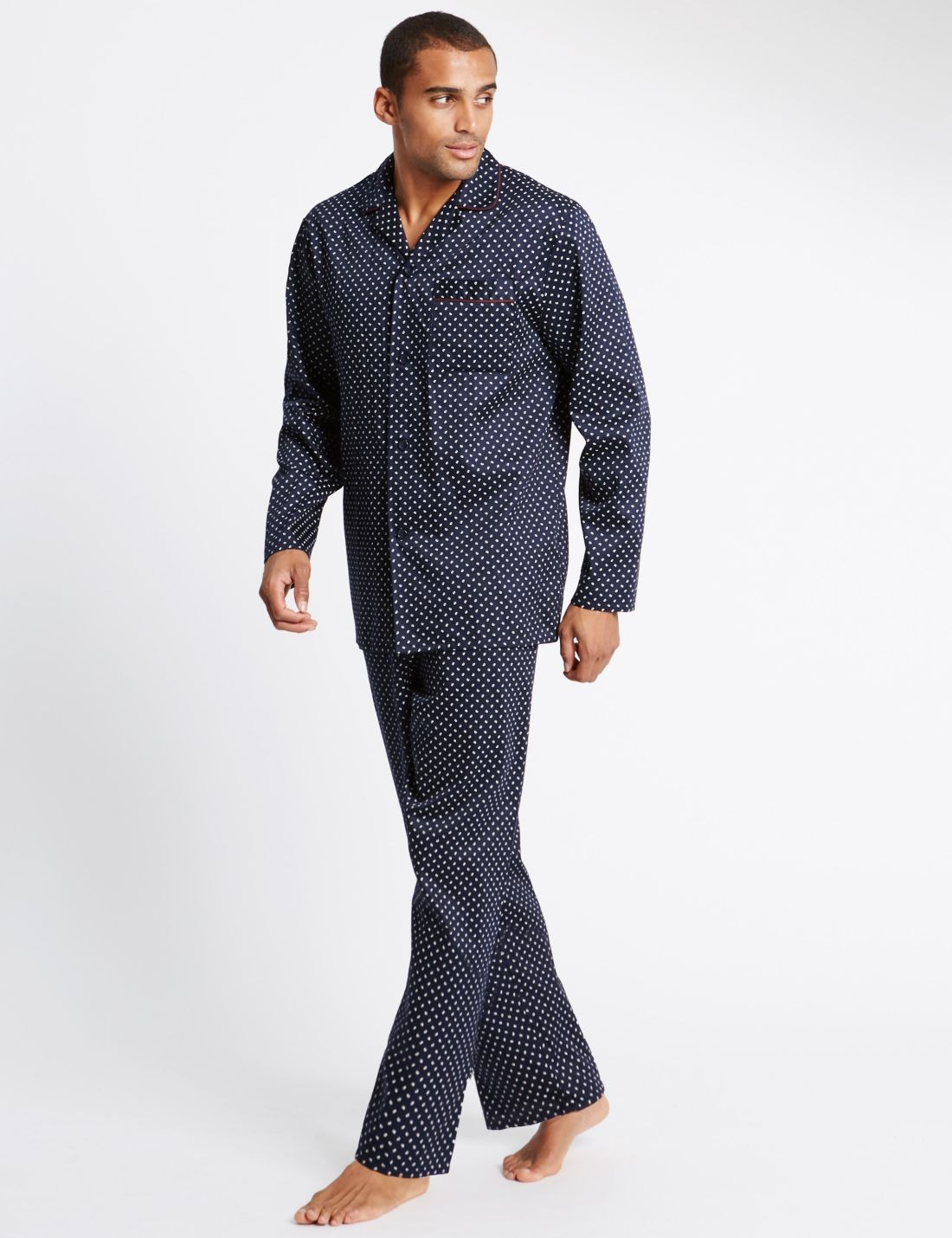 Pure Cotton Desenli Pijama