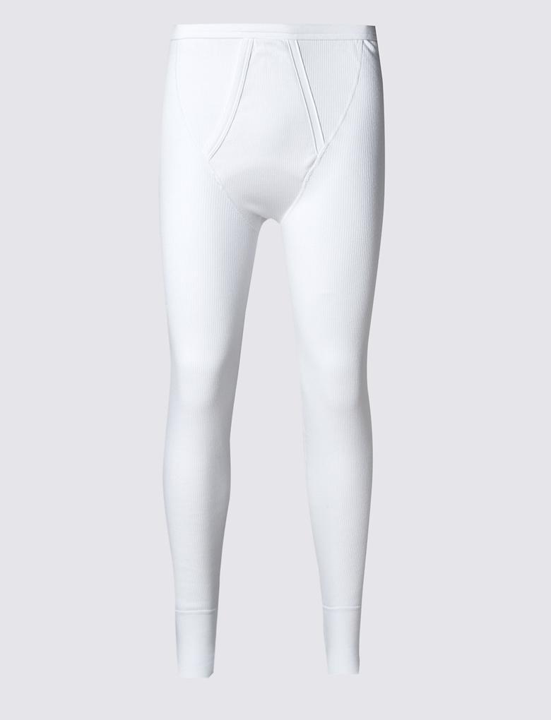 Pamuklu Termal Pantolon