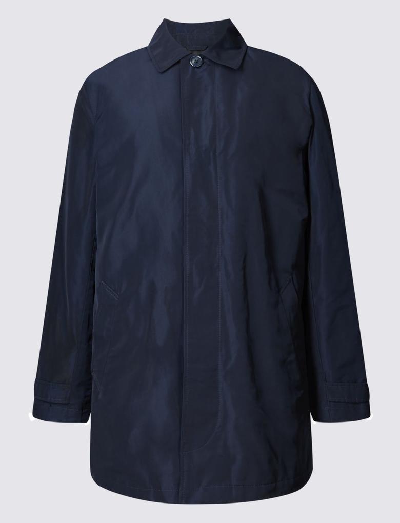 Lacivert Yakalı Yağmurluk (Stormwear™ Teknolojisi ile)