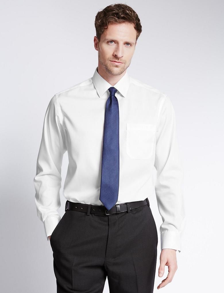 Pure Cotton Regular Fit Cepli Gömlek
