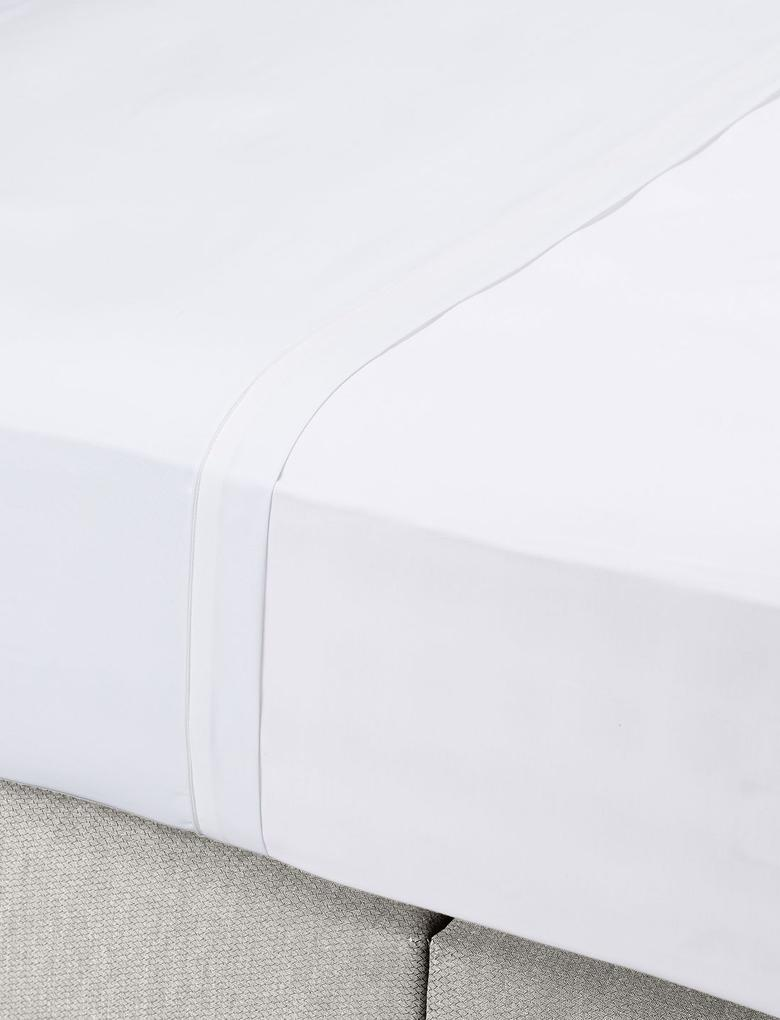 Ütü Gerektirmeyen Saf Egyptian Cotton (Mısır Pamuğu) Çarşaf