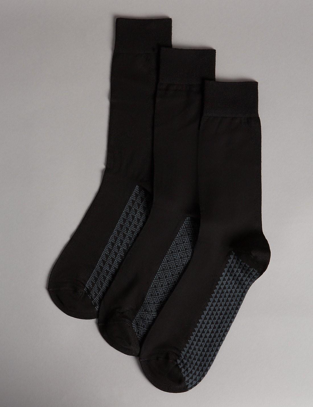 3'lü Modal Karışımlı Çorap Seti