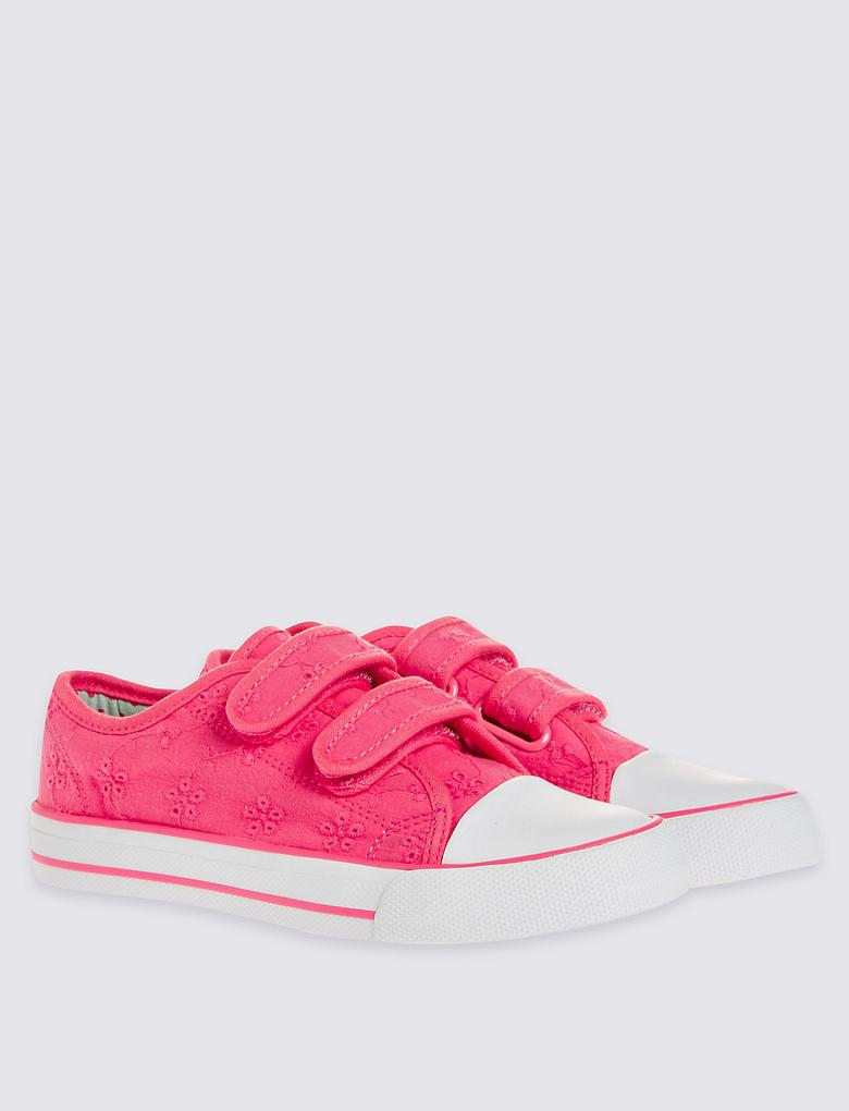 Kid's Nakış İşlemeli Spor Ayakkabısı
