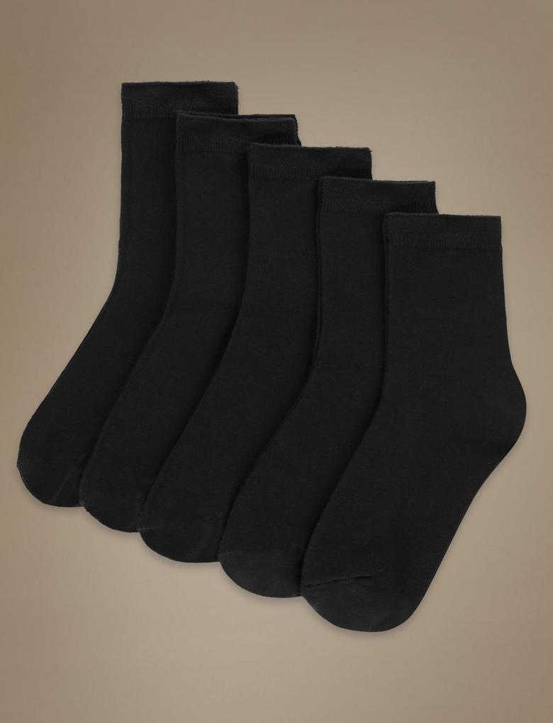 Siyah 5'li Çorap Seti