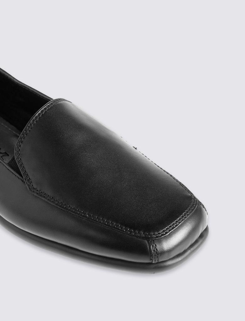 Deri Makosen Ayakkabı