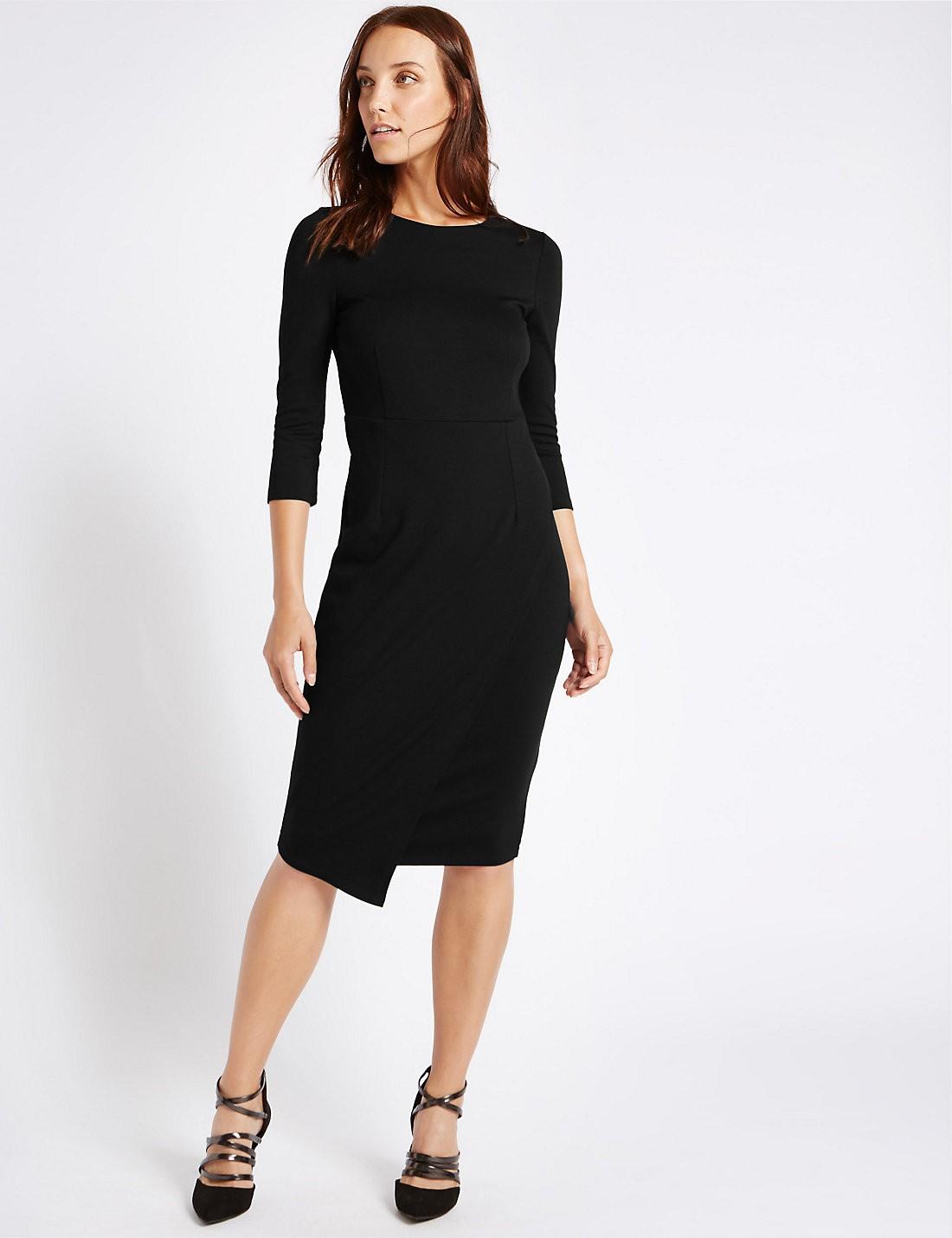 Yarım Kollu Bodycon Elbise