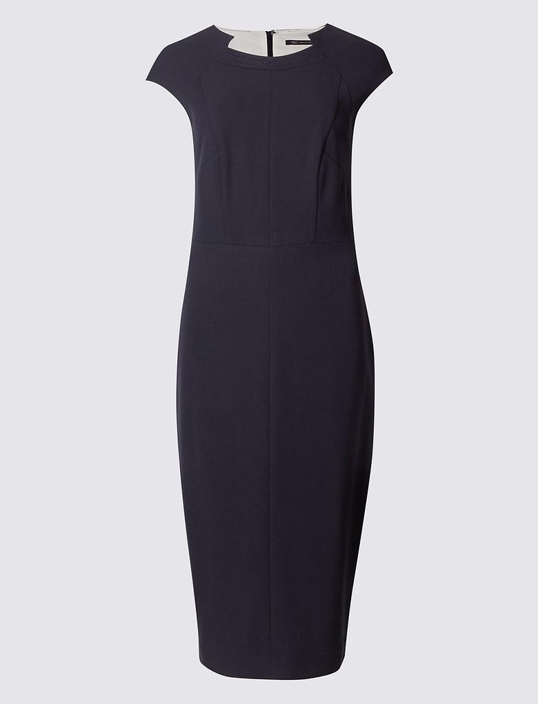 Kolsuz Uzun Elbise