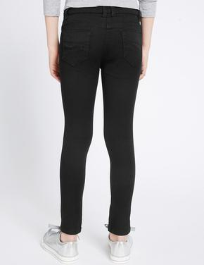 Pamuklu Esnek Super Skinny Leg Denim Pantolon (3 - 14 Yaş)