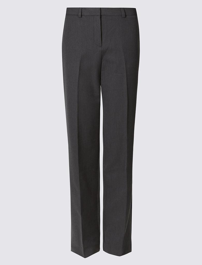 Dokuma Straight Pantolon