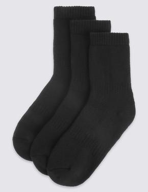 Erkek Çocuk Siyah 3'lü Modal Termal Okul Çorabı (3 - 16 Yaş)