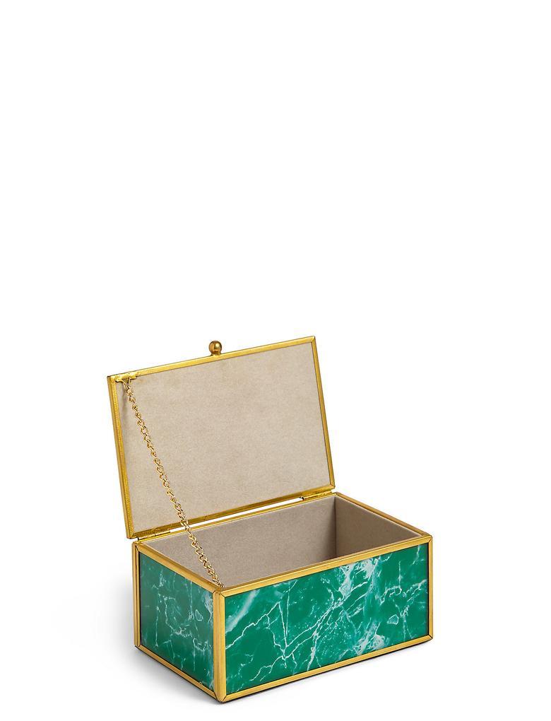 Yeşil Mermer Takı Kutusu