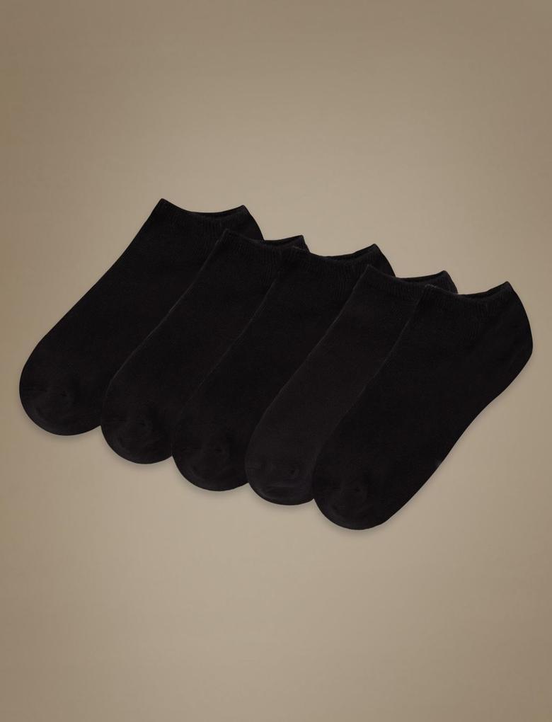 Kadın Siyah 5'li Çorap Seti
