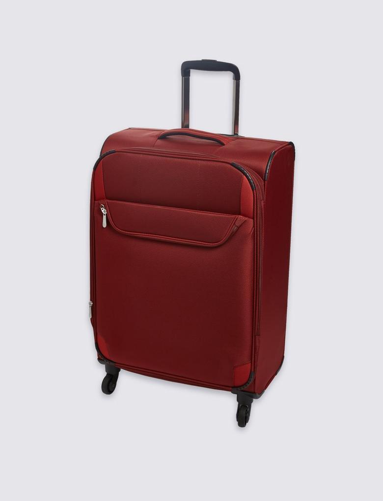 4 Tekerlekli Hafif Orta Boy Bavul