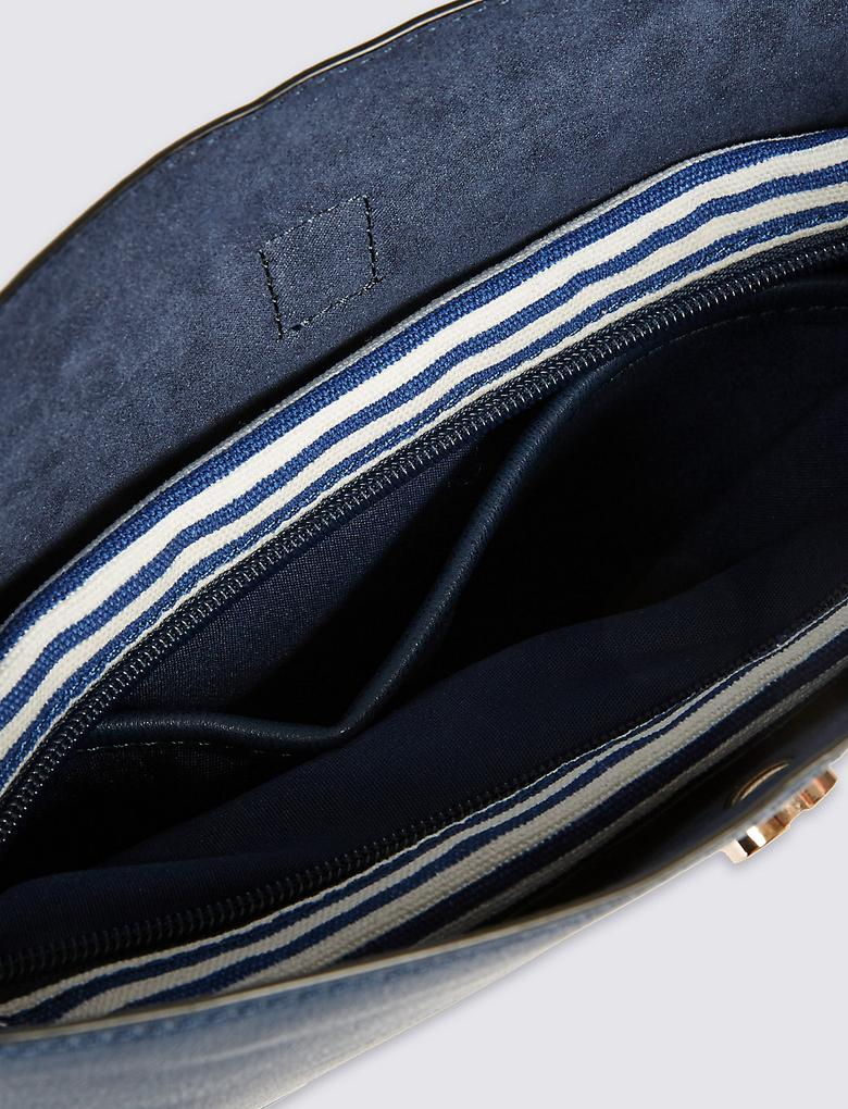 Metal Tokalı Çapraz Çanta