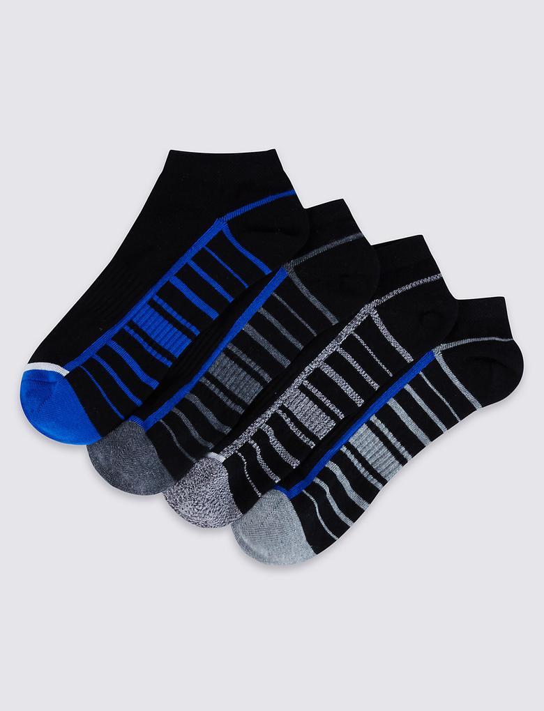 4'lü Çorap Seti (Cool & Freshfeet™ Teknolojisi ile)