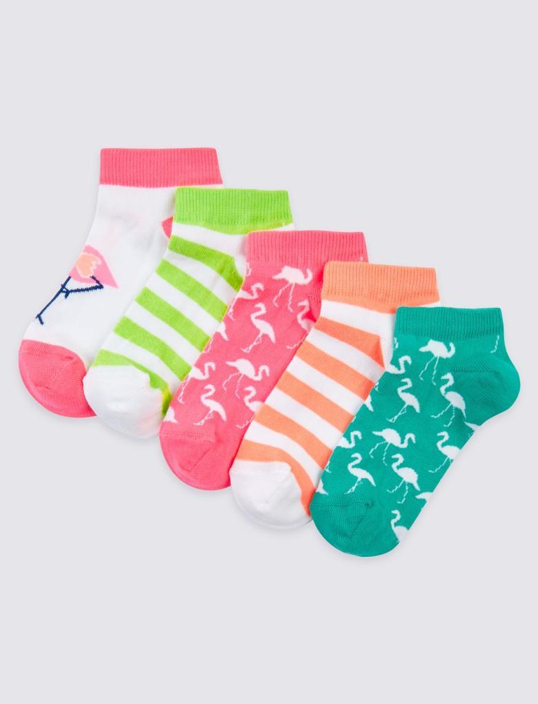 5'li Freshfeet™ Çorap (3 - 14 Yaş)