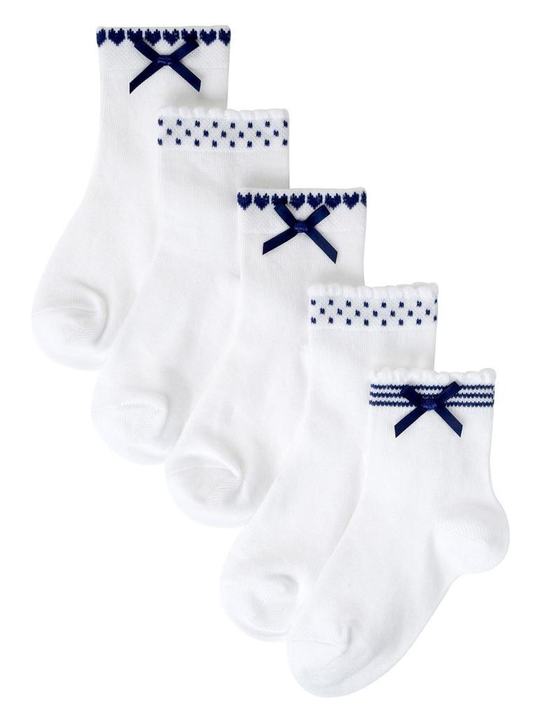 5'li Freshfeet™ Pamuklu Çorap(Silver Teknolojisi ile)