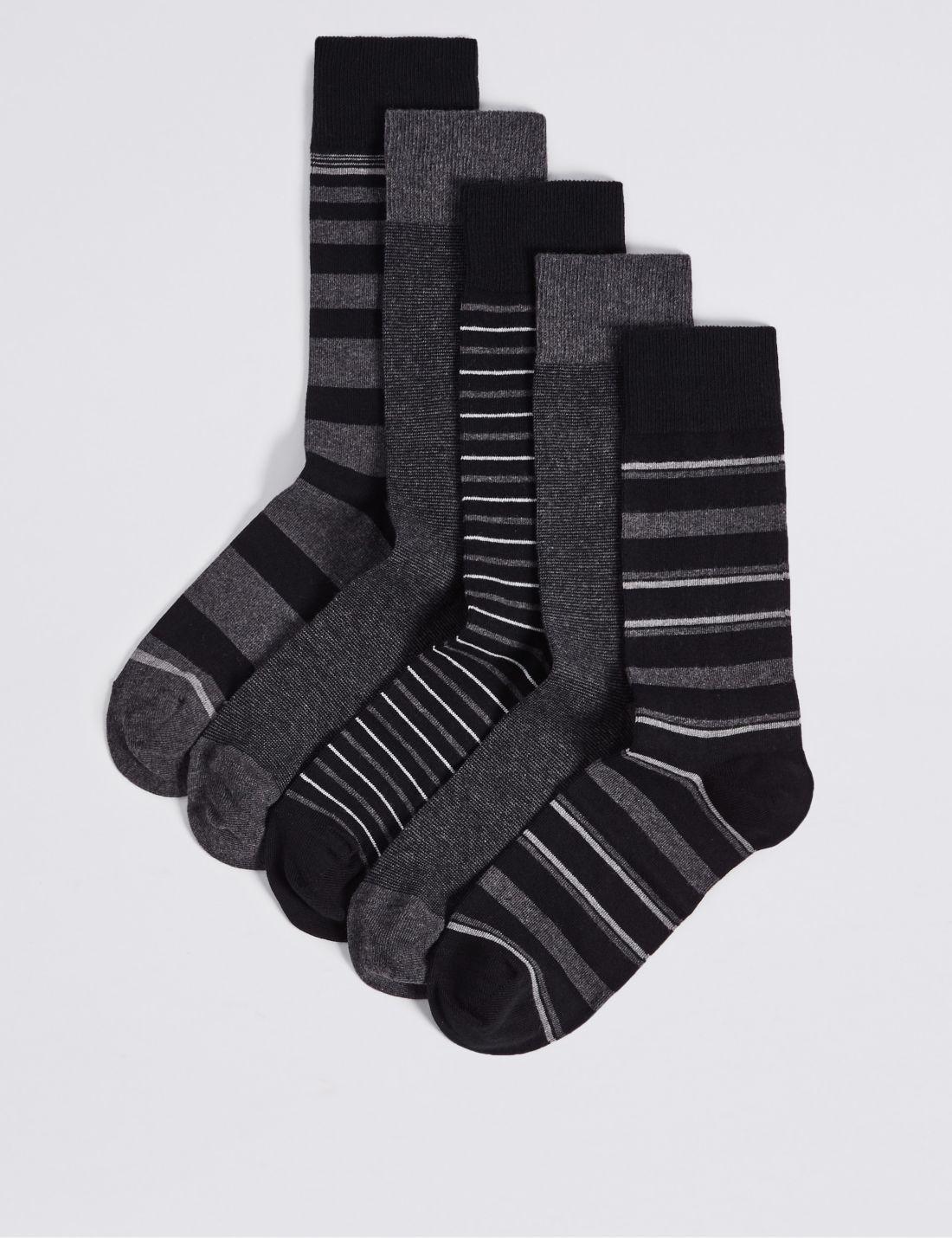 5'li Çorap Seti (Cool & Freshfeet™ Teknolojisi ile)