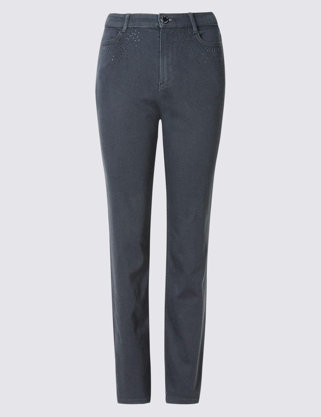 Straight Denim Pantolon