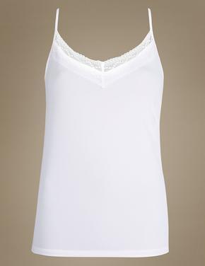 Kadın Beyaz Atlet (Cool Comfort Lite™ Teknolojisi ile)