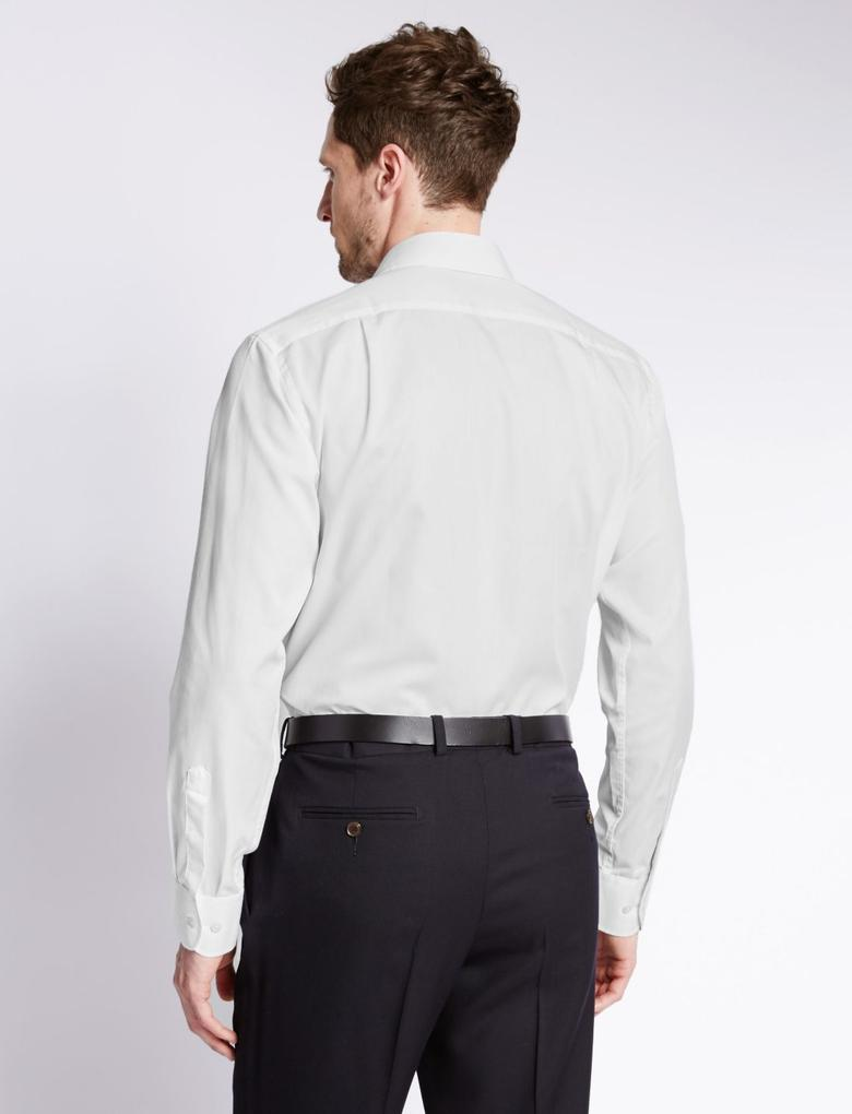 Pamuklu Kolay Ütülenebilir Gömlek