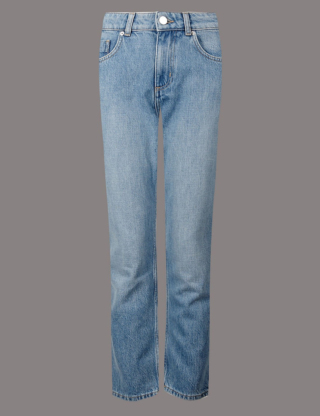 Orta Belli Straight Cropped Jean Pantolon