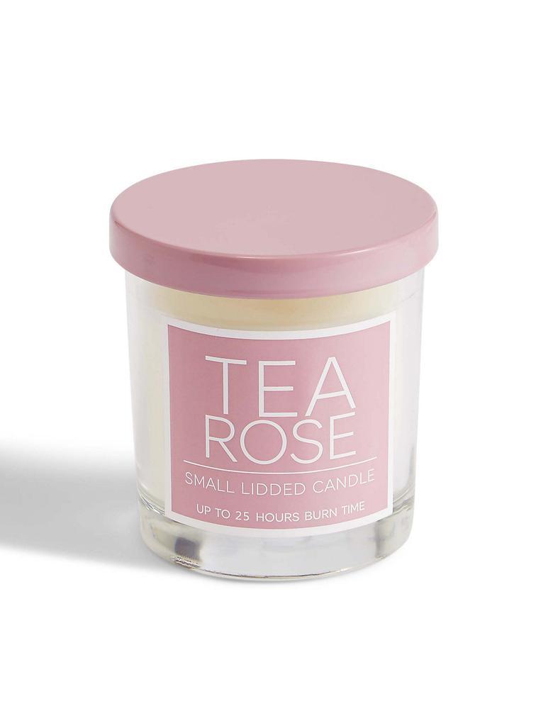 Tea Rose Kapaklı Mum