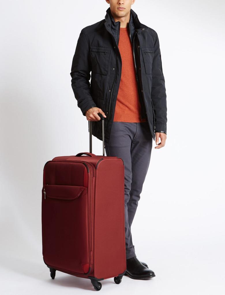 4 Tekerlekli Hafif Büyük Boy Bavul