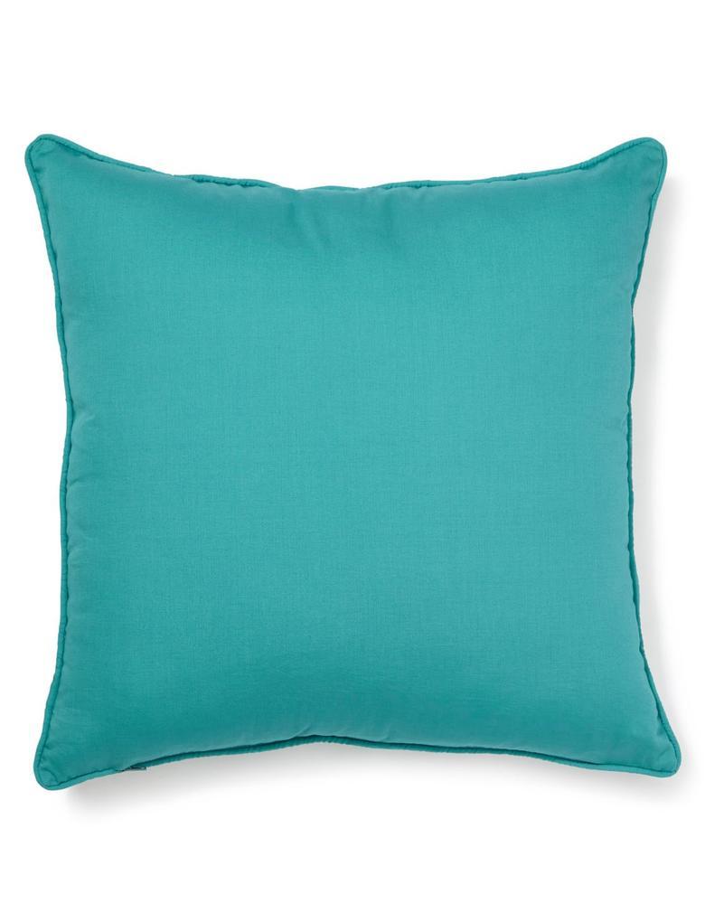Mavi Desenli Yastık