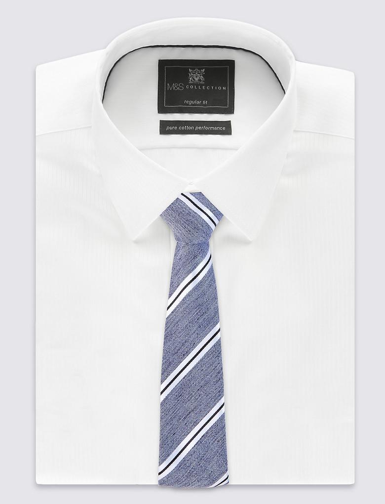 Çizgili Modern Kravat
