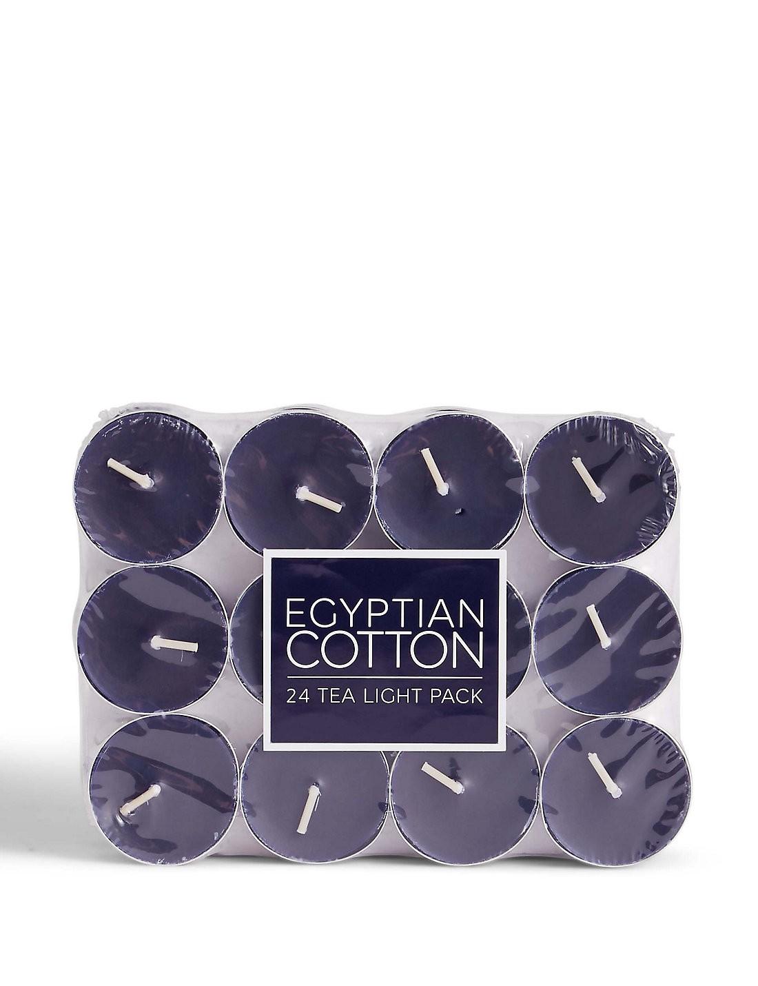 24'lü Egyptian Cotton Kokulu Tea Light