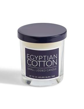 Egyptian Cotton Kokulu Kapaklı Mum