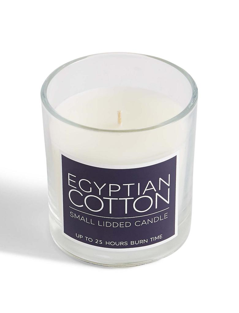 Lacivert Egyptian Cotton Kokulu Kapaklı Mum
