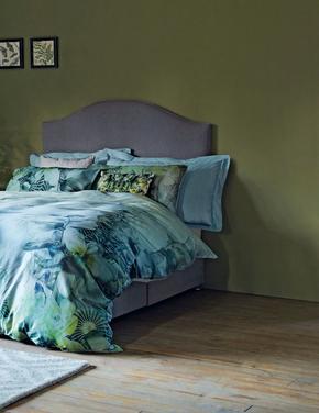 Mavi Saf Egyptian Cotton (Mısır Pamuğu) Oxford Yastık Kılıfı (StayNEW™ Teknolojisi ile)