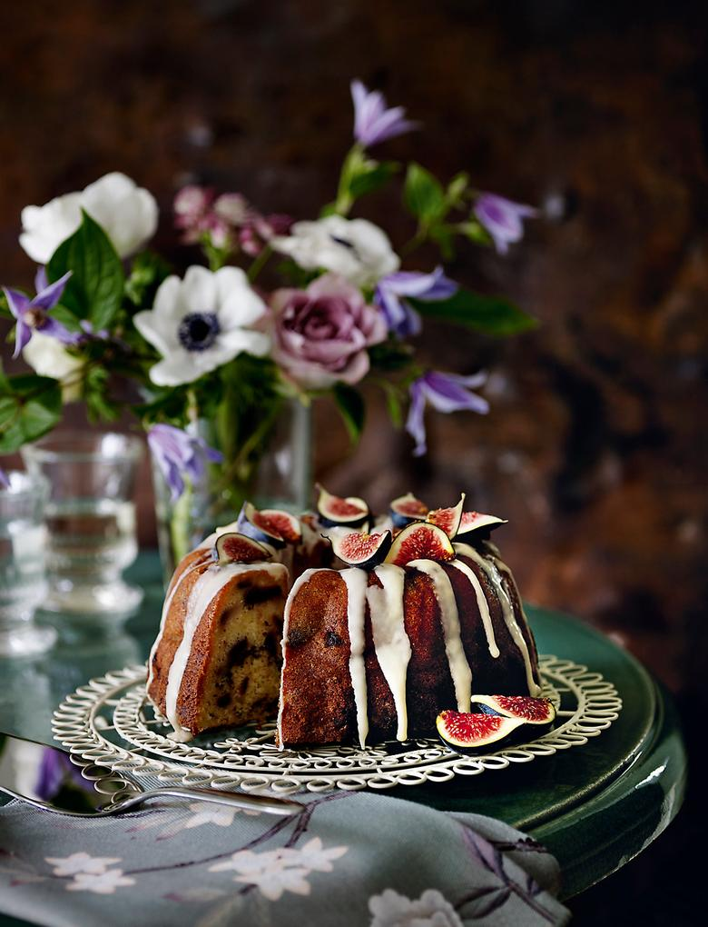 Bej Vintage Kek Standı