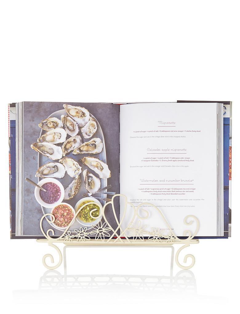 Vintage Tarzında Yemek Kitabı Standı