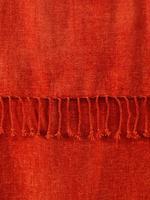 Kahverengi Düz Renk Koltuk Şalı