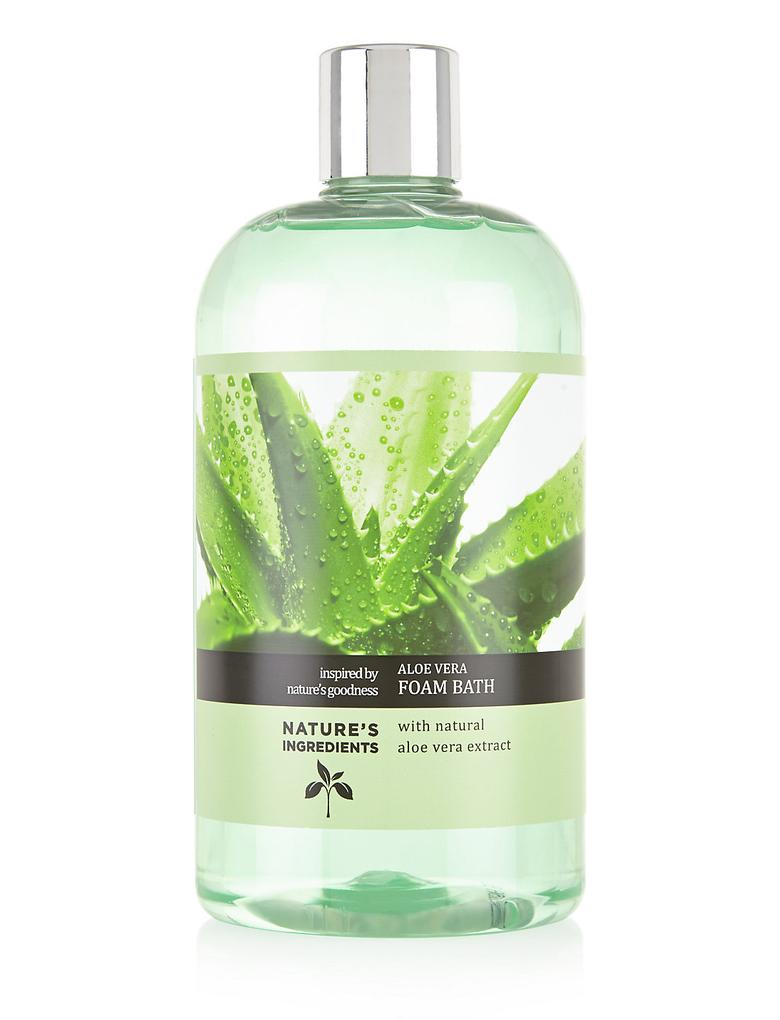 Kozmetik Renksiz Aloe Vera Banyo Köpüğü 500ml