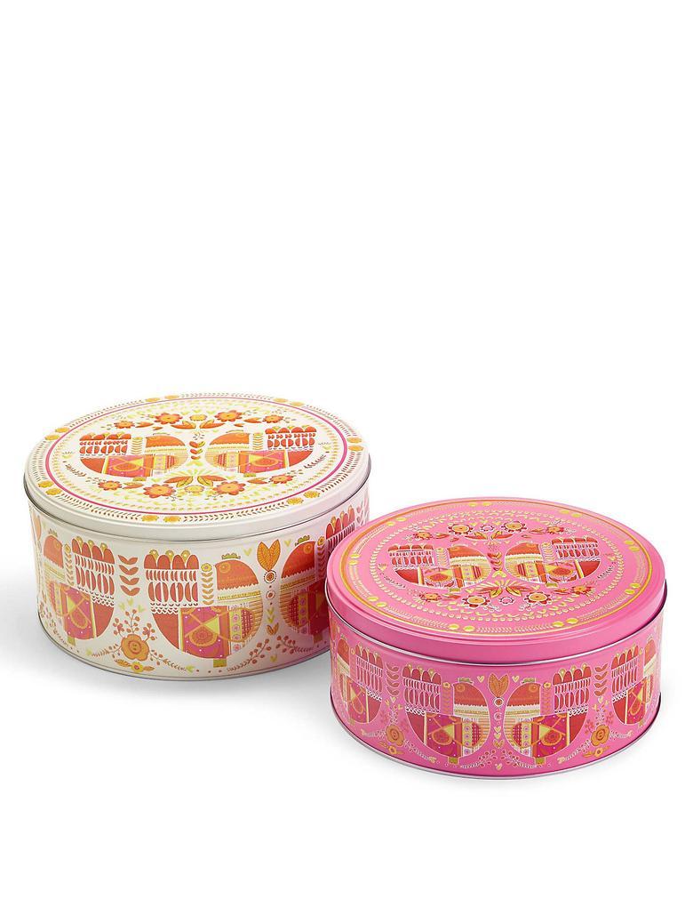2'li Marigold Kek Kutusu