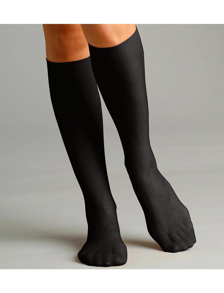 5'li 15 Denye Mat Diz Altı Çorap