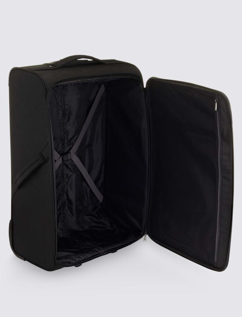 Siyah 2 Tekerlekli Büyük Boy Valiz