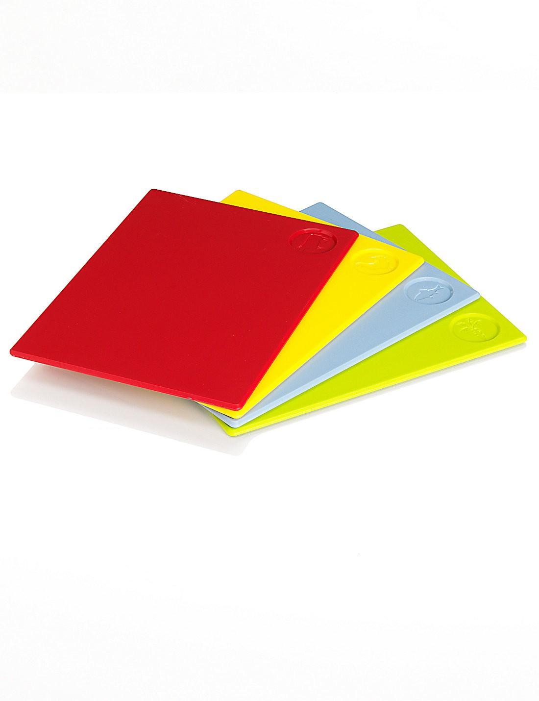 4'lü Renkli Kesme Tahtaları