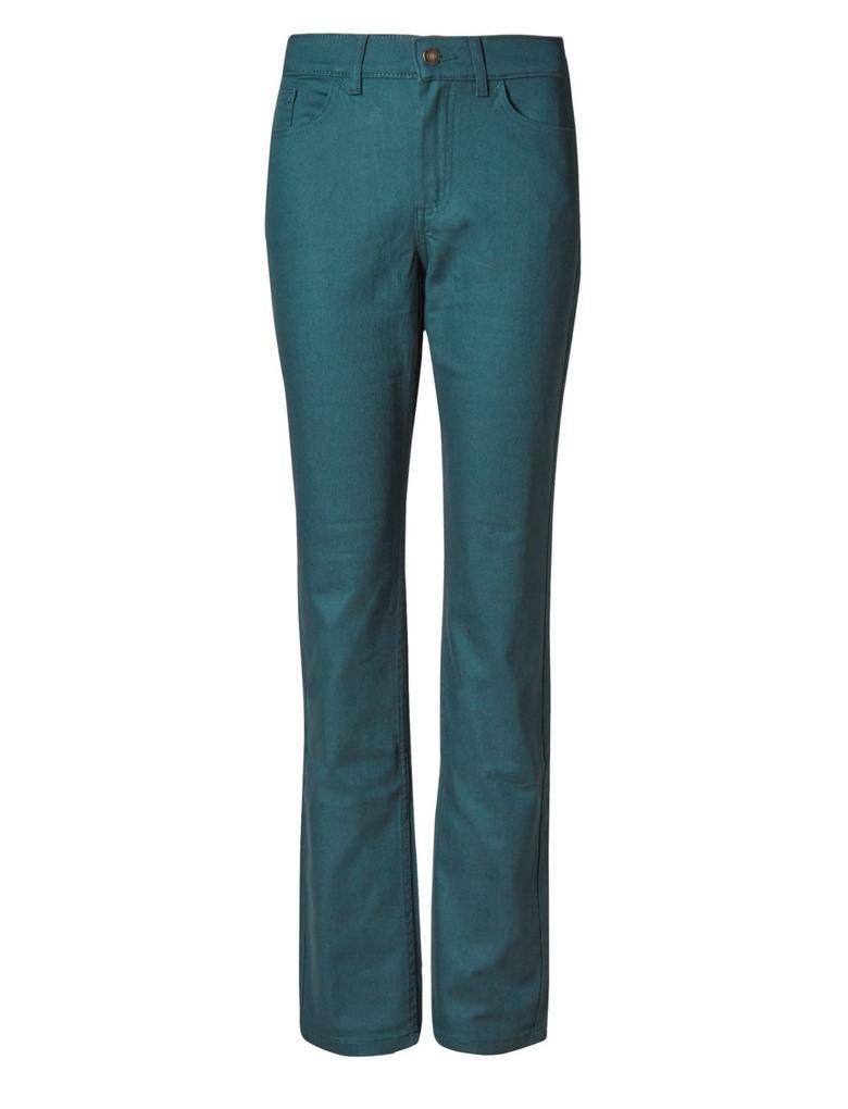 Yeşil Ozone Düz Kesim Jean Pantolon