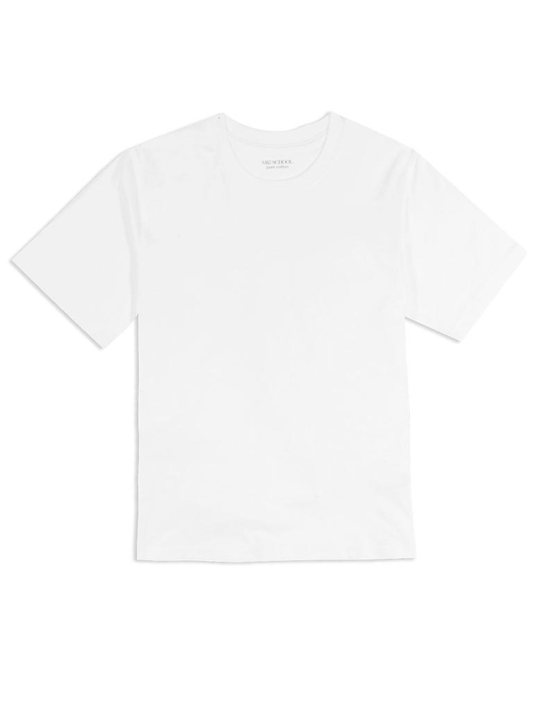 2'li Saf Pamuklu Unisex T-Shirt