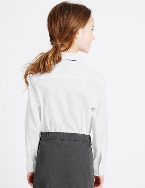 Beyaz 2'li Ütü Gerektirmeyen Gömlek
