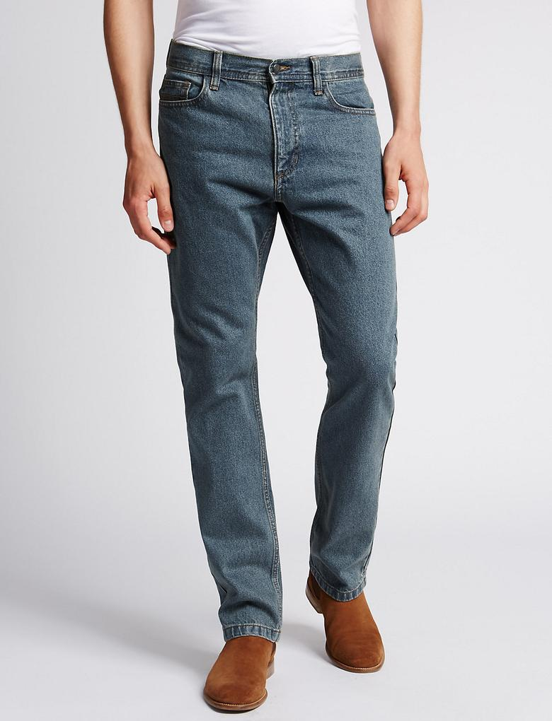 Regular Fit Denim Pantolon