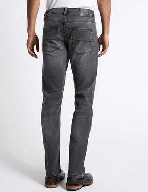 Slim Fit Streç Travel Jean Pantolon